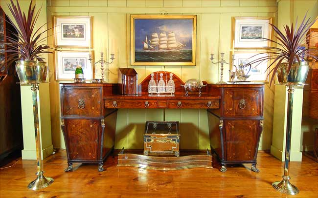 Fine English and Oriental Period Antique Furniture