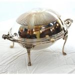 English Silverplate Breakfast Server
